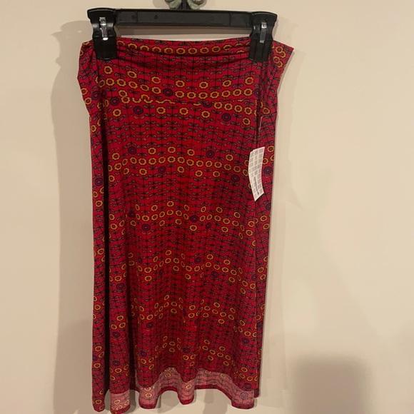 Lularoe Azure midi skirt size large